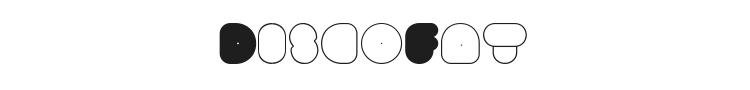 DiscoFat Font Preview