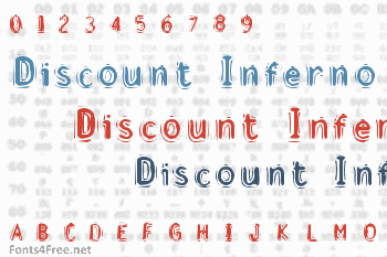 Discount Inferno Font