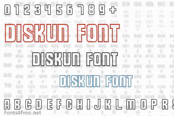 Diskun Font