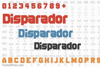 Disparador Font