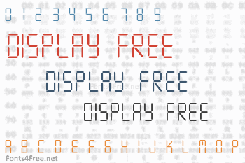 Display Free Font