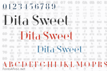 Dita Sweet Font