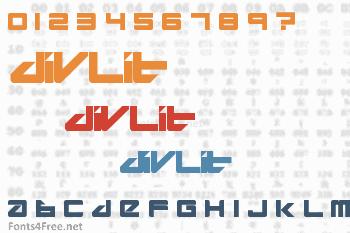 Divlit Font