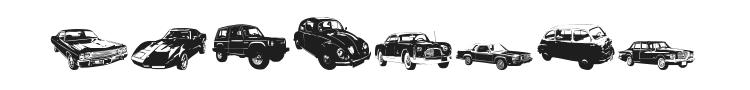 DJ Autocar Font