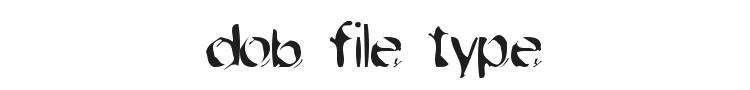 Dob File Type