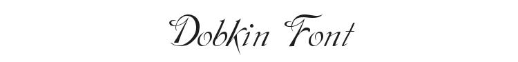 Dobkin Font Preview