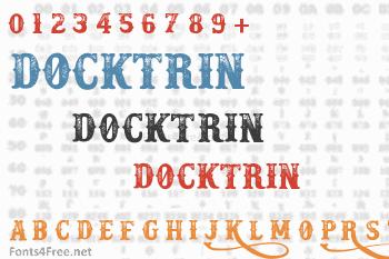 Docktrin Font