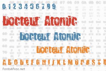 Docteur Atomic Font