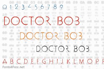 Doctor Bob Font