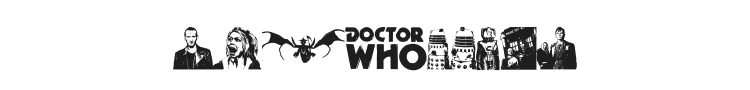 Doctor Who 2006 Font Preview