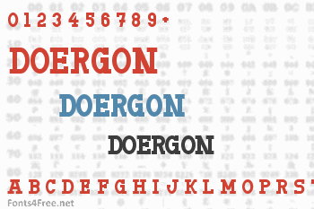 Doergon Font