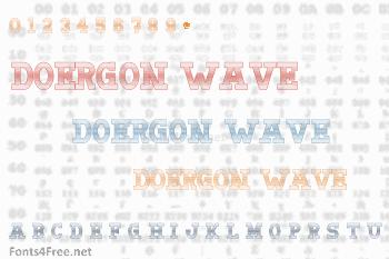Doergon Wave Font