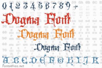 Dogma Font