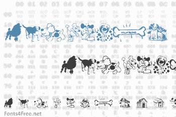 Dogs CSP Font