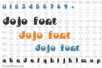 Dojo Font