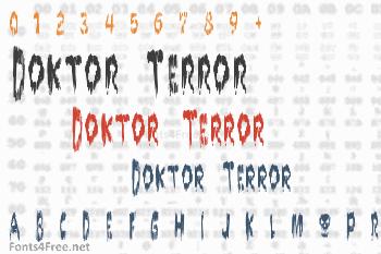 Doktor Terror Font