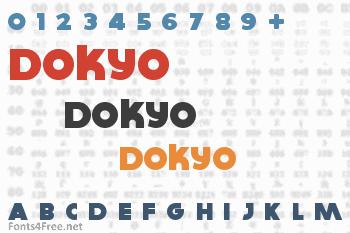 Dokyo Font