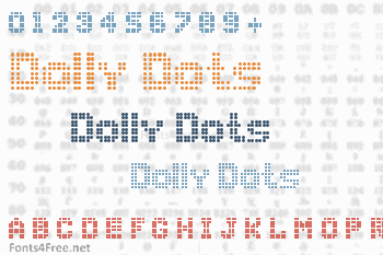 Dolly Dots Font