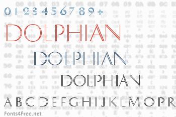 Dolphian Font