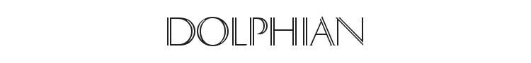 Dolphian Font Preview