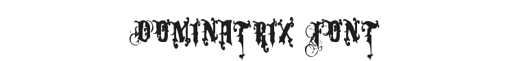 Dominatrix Font Preview