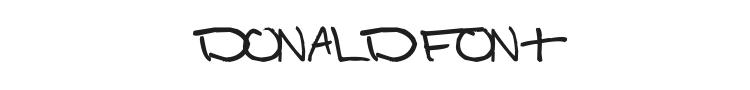 Donald Font