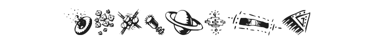 Doodle Art Font Preview