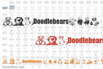 Doodlebears Font