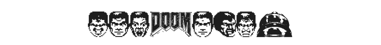 Doom And Gloom Font Preview
