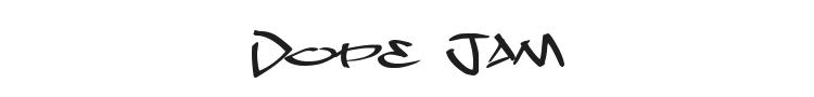 Dope Jam Font