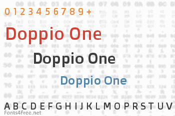 Doppio One Font