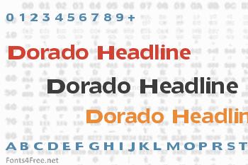 Dorado Headline Font