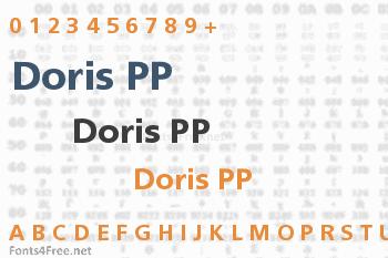 Doris PP Font