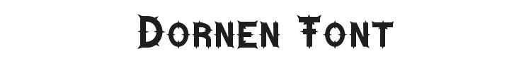 Dornen Font