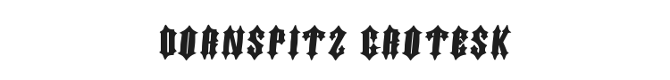 Dornspitz Grotesk