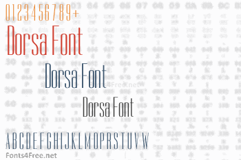 Dorsa Font