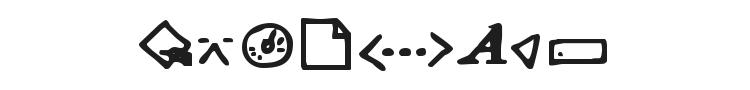 Dot Com Dings Font
