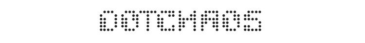 Dotchaos Font Preview