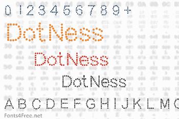 DotNess Font
