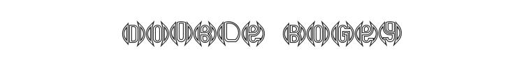 Double Bogey Font
