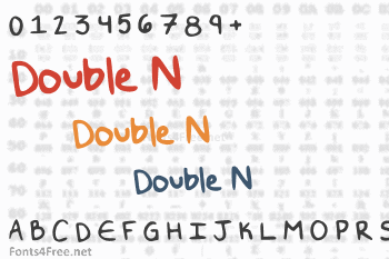 Double N Font