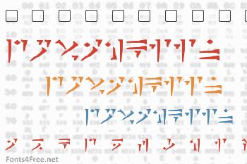 Dovahkiin Font