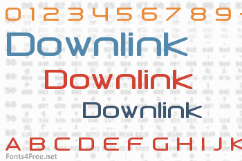 Downlink Font