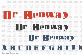 Dr Benway Font