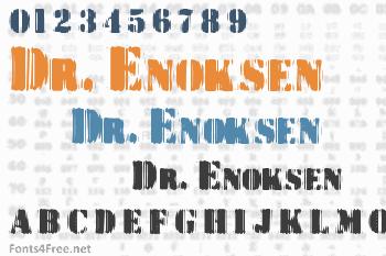 Dr. Enoksen Font