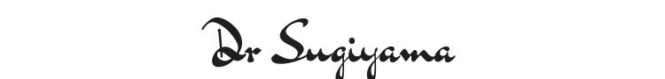 Dr Sugiyama Font Preview