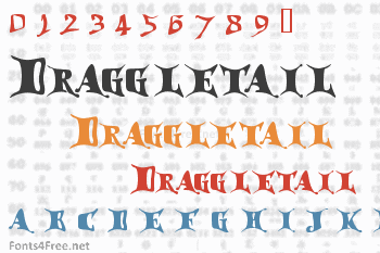 Draggletail Font