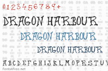 Dragon Harbour Font