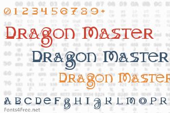 Dragon Master Font