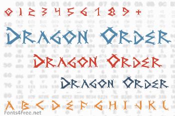 Dragon Order Font